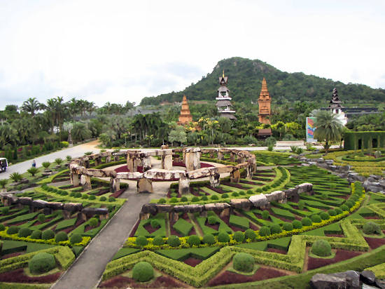 The magnificent Nong Nooch park in Pattaya Thailand
