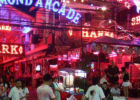 La Walking Street de Pattaya