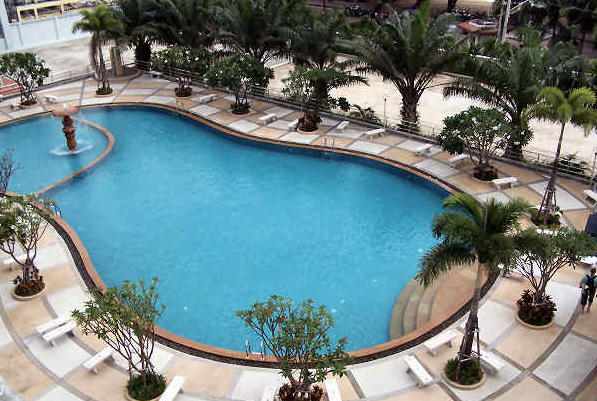 Piscine du ViewTalay 7 Jomtien